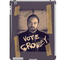 VOTE CROWLEY iPad Case/Skin