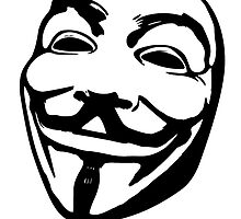 Anonymouse Guy Fawkes Mask by kwg2200