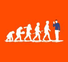 Evolution Spock! Kids Clothes