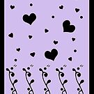 Silhouette Valentine by Amy-Elyse Neer