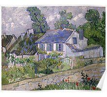 Vincent van Gogh - Houses at Auvers Poster