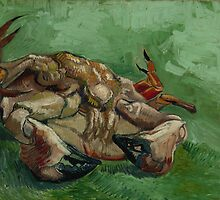 Vincent van Gogh - A crab on its back by TilenHrovatic