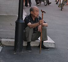 Chinese Man by bourboulithra