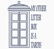 My Other Litter Box is a TARDIS (version 2) by Amanda Vontobel Photography
