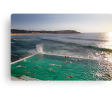 Iceberg Pool at Bondi, Sydney Canvas Print