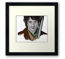 Bilbo of the Shire Framed Print