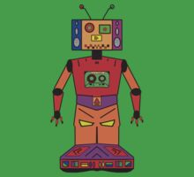 Robot Mix Tape Kids Clothes