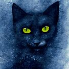 ORION THE BLUE CAT by Leny .