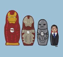 Iron Man matryoshka dolls  Kids Clothes