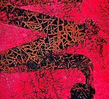 A Red Temptations Abstract by Lee Craig
