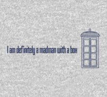 I am definitely a madman with a box - Eleventh Doctor by Amanda Vontobel Photography