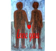 LOVE YOU 8 Photographic Print
