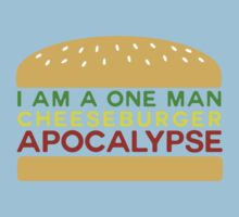 Cheeseburger Apocalypse by Insanmiac