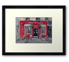 Port O' Leith Framed Print