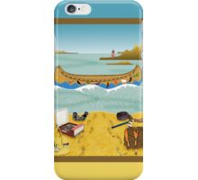 Phone case: Canoeing to Moonrise Kingdom iPhone Case/Skin