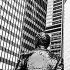 Pittsburgh Business Man by Michel Godts