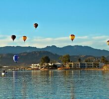 Balloons Over The Bay by tvlgoddess