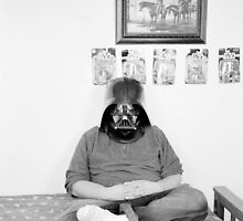 Robert with Darth Vader Mask - 2009 by Bastianelli