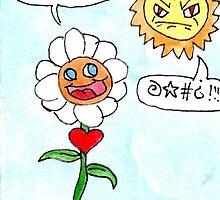 Flower Loves Sun by Tucker Anderson
