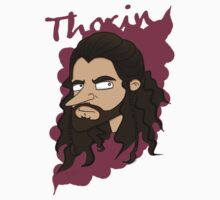 Cartoon Thorin [with name] by sebabybaby