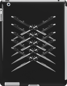 Switch Blade x Skeleton Rib Cage by Mr Brindle