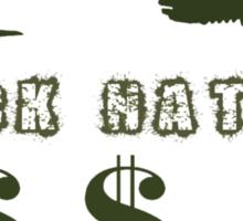 Fuck Nature Sticker