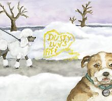 Dusty the Hopeless Romantic by Kim  Harris