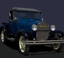 1928 Ford Model A Pickup Truck by TeeMack