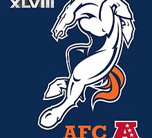 Denver Broncos AFC Champions by AbsoluteLegend