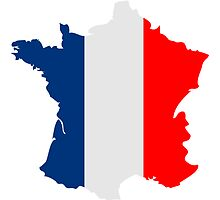 France Map Flag by Style-O-Mat