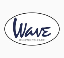 Wave Official Logo Sticker - Blue by wavemerch