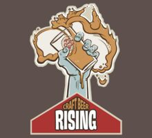 Craft Beer Rising T-Shirt by CraftyPint