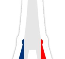 Eiffel Tower France Flag Paris Sticker