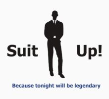 Suit up barney stinson by briannajade