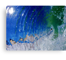 Liquid Bubble Canvas Print