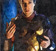 rory oil painting by DrWhoJohnSmith