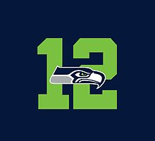 Seattle Seahawks 12th Man by AbsoluteLegend