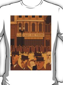 Collins Street, 5pm Live Fast, Die Young T-Shirt