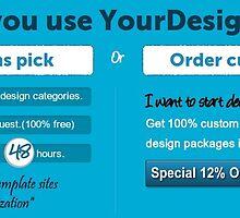 Custom Website layout Graphics Prints Designers by SmartRoss