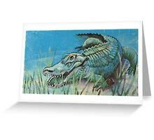 Gator Mural Greeting Card