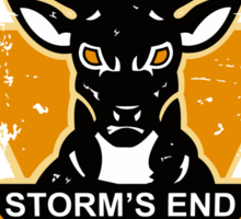 STORM'S END STAGS Sticker