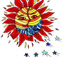 Sun and Moon Love Affair  by Deb Coats