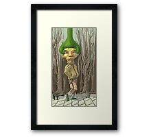 Infinite Hairstyle Framed Print