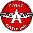Flying A Gasoline crystal version. by htrdesigns