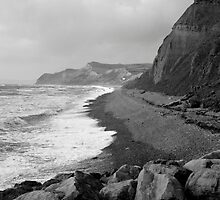 Jurassic Coast, Dorset - Stormy October by Matthew Walters