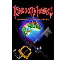Kingdom Hearts/Final Fantasy Design Photographic Print