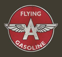 Flying A Gasoline rusted version by htrdesigns