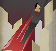 Superman Red Son by Leopard