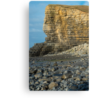 Nash Point Beach Glamorgan Coast Canvas Print