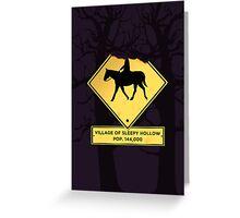 Headless Horseman case Greeting Card